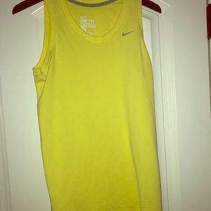 Nike workout muscle top